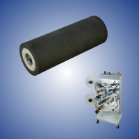 Rubberized roller for the Hurtado labeller